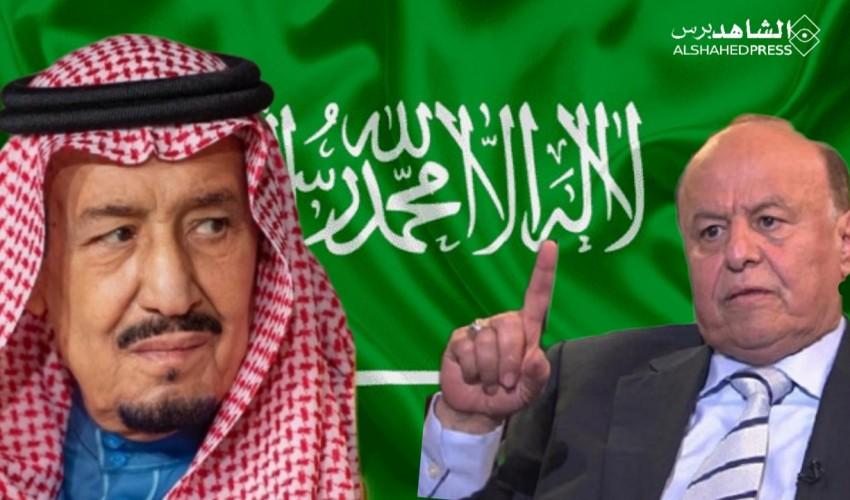 عاجل | هادي يستنجد بالسعودية لإنقاذ الريال اليمني وبن دغر يناشد المملكة : مجاعة حقيقية تنتظر أهلكم في اليمن وهكذا كان الرد السعودي ؟!