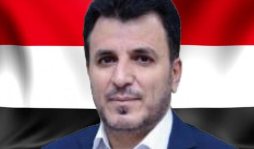 رجل الأعمال علي احمد دغسان يبعث برقية عزاء ومواساة لوزير الصحة الدكتور طه المتوكل في وفاة والدته