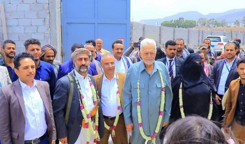 بشرى سارة لجميع المواطنين .. افتتاح أكبر مشروع استثماري في صنعاء بحضور كبير لقيادات الدولة ( صور )