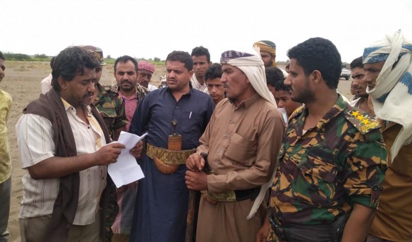 استعادة 150معاد من أراضي الوقف المنهوب في باجل بالحديدة
