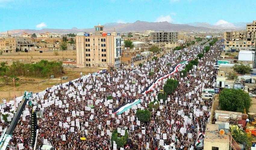 اليمن يحيي اليوم العالمي للقدس وسط حشود جماهيرية كبيرة في العاصمة صنعاء وعدد من المحافظات اليمنية .. ( صور )